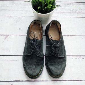 DR. MARTENS Suede Octavius Oxford Shoes W 10 M 9